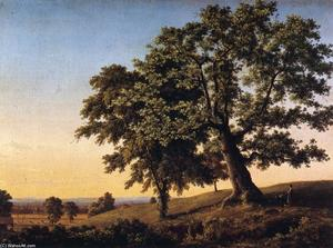 Frederic Edwin Church - Der Charter Oak