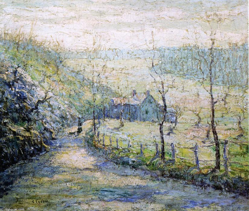 famous painting Die Straße of Ernest Lawson