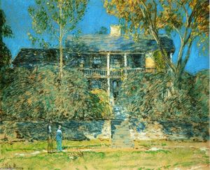 Frederick Childe Hassam - Das Holly Farm