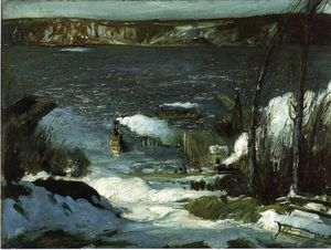 George Wesley Bellows - norden fluss