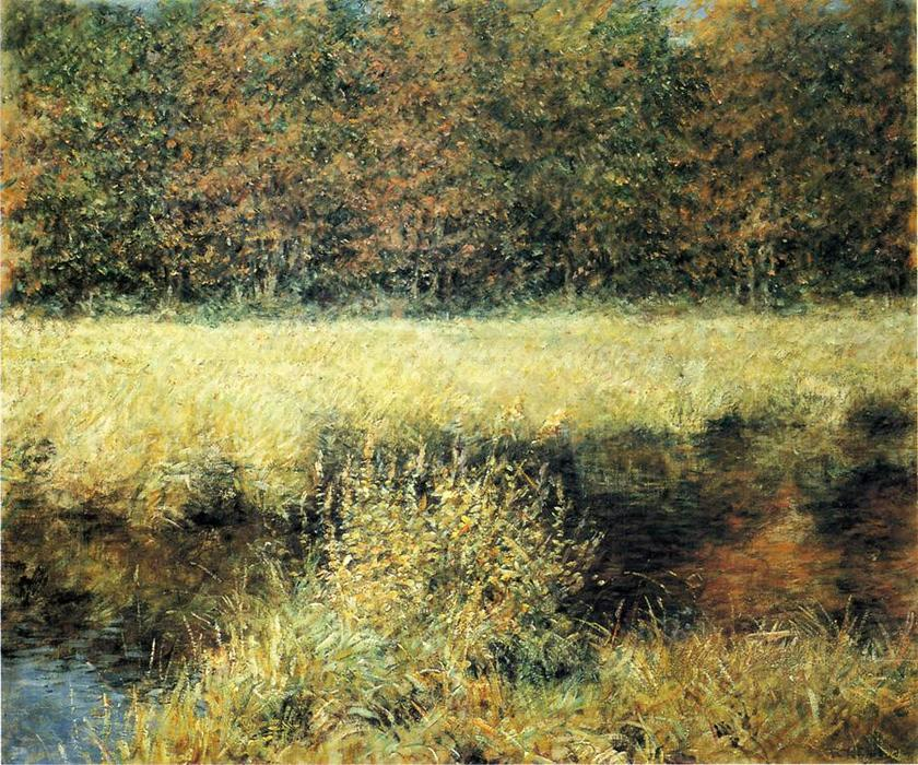 famous painting Herbstlandschaft of Robert Lewis Reid