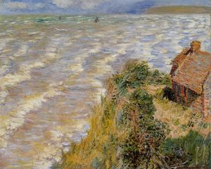 Claude Monet - Rising Tide bei Pourville