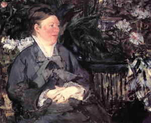 Edouard Manet - Madame Manet in der Musikhochschule