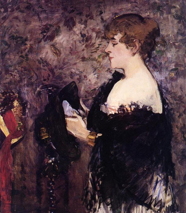 famous painting Der Milliner of Edouard Manet