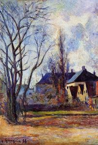 Paul Gauguin - Winterende