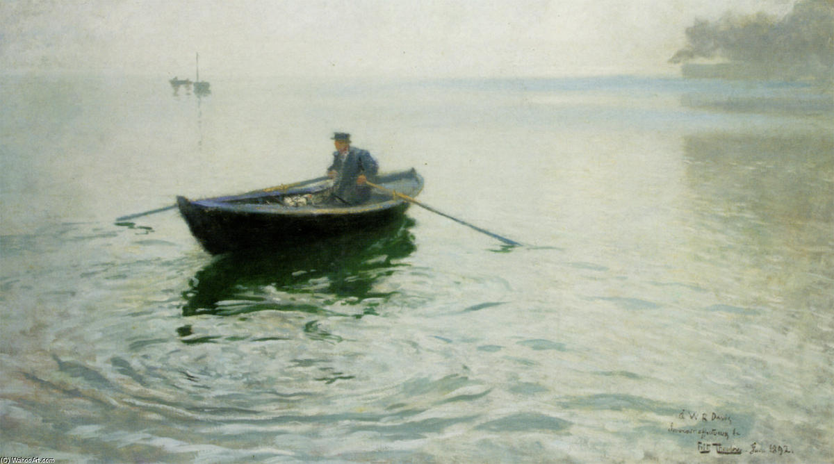 famous painting Alkejegeren of Frits Thaulow