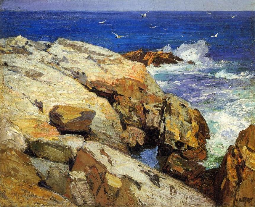 famous painting der USA  Küste  of Edward Henry Potthast