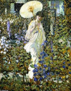 Frederick Carl Frieseke - Sonne and Wind