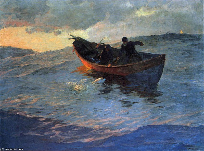 famous painting untitled of Edward Henry Potthast