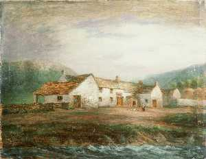 George Hayes - 'The alte fähre Inn' , Conway
