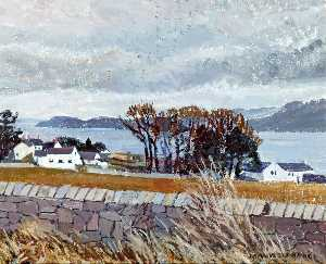 Mavis Blackburn - Menai Meerenge von llanfaes